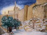 Snowy Jerusalem 2008